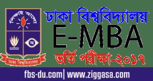 DU EMBA Admission Test 2017