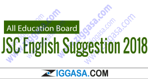 JSC English Suggestion 2018
