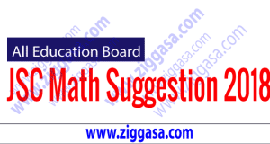 JSC Mathematics Suggestion 2018
