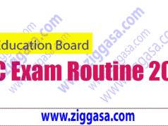 JSC Exam Routine 2018 - ziggasa