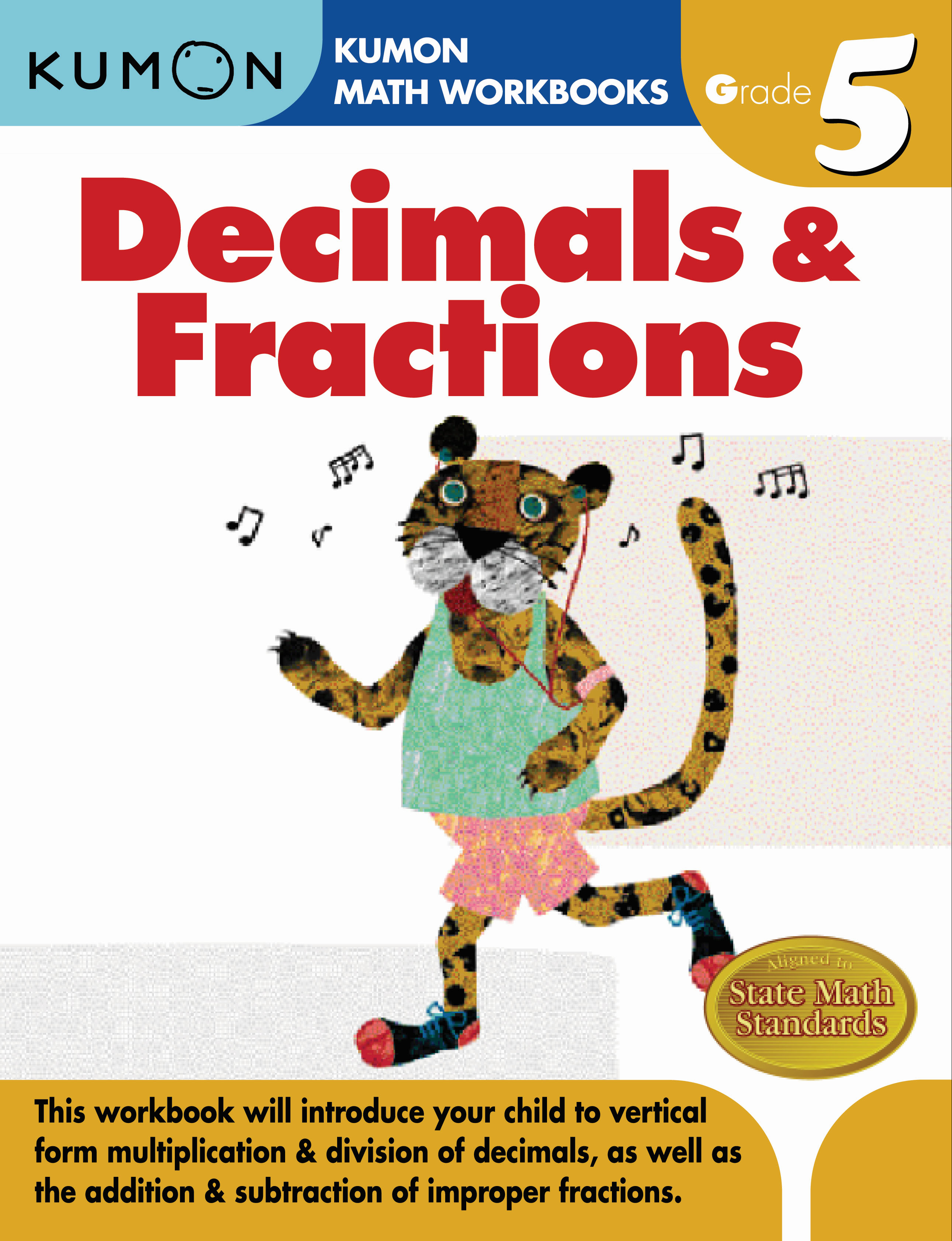 Kumon Decimals Amp Fractions Grade 5