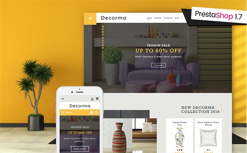 Decorma PrestaShop 1.7 Theme #61231