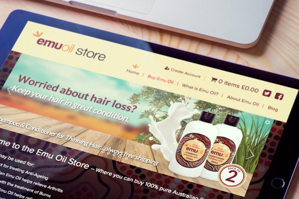 Emu Oil - Website