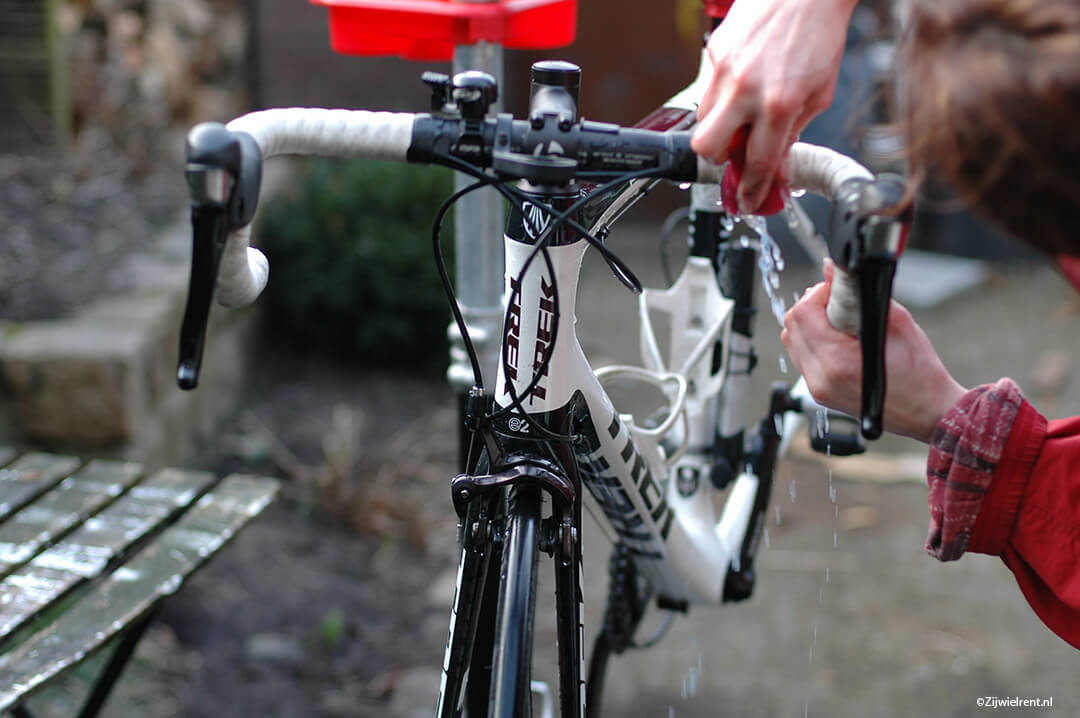 tips om snel je racefiets te wassen