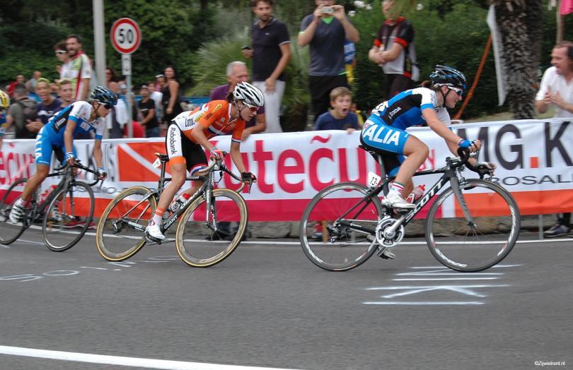 Marianne Vos in finale WK