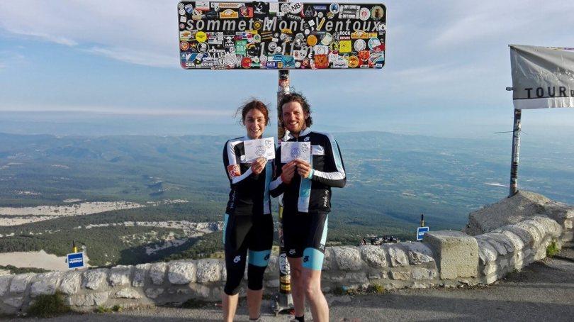 Bart en Janneke op Mont Ventoux