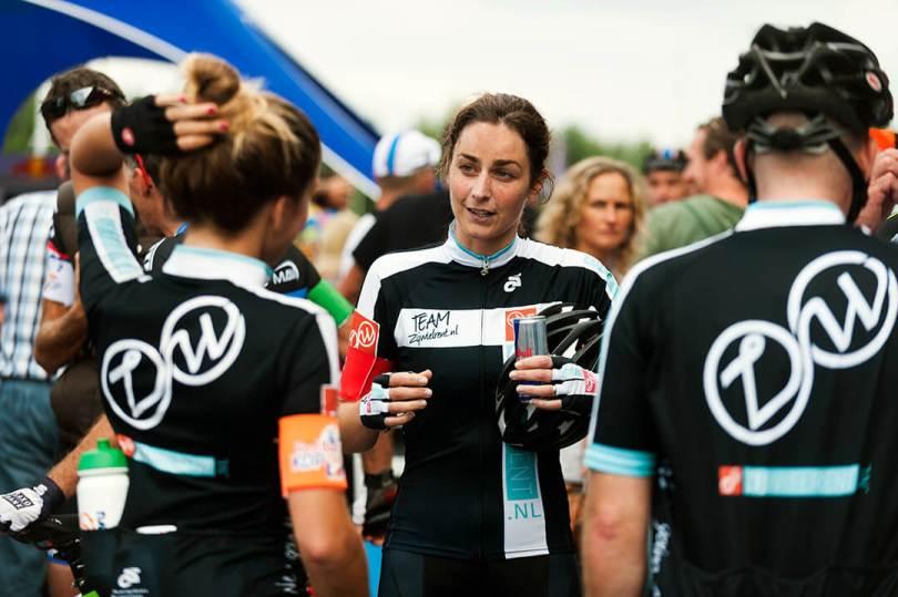 Vrouwenwielrennen Kop over Kop