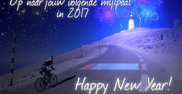 Gelukkig nieuwjaar wielrennen