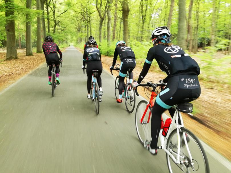 Langdurige fietstraining