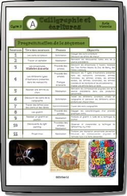 Calligraphie et écritures