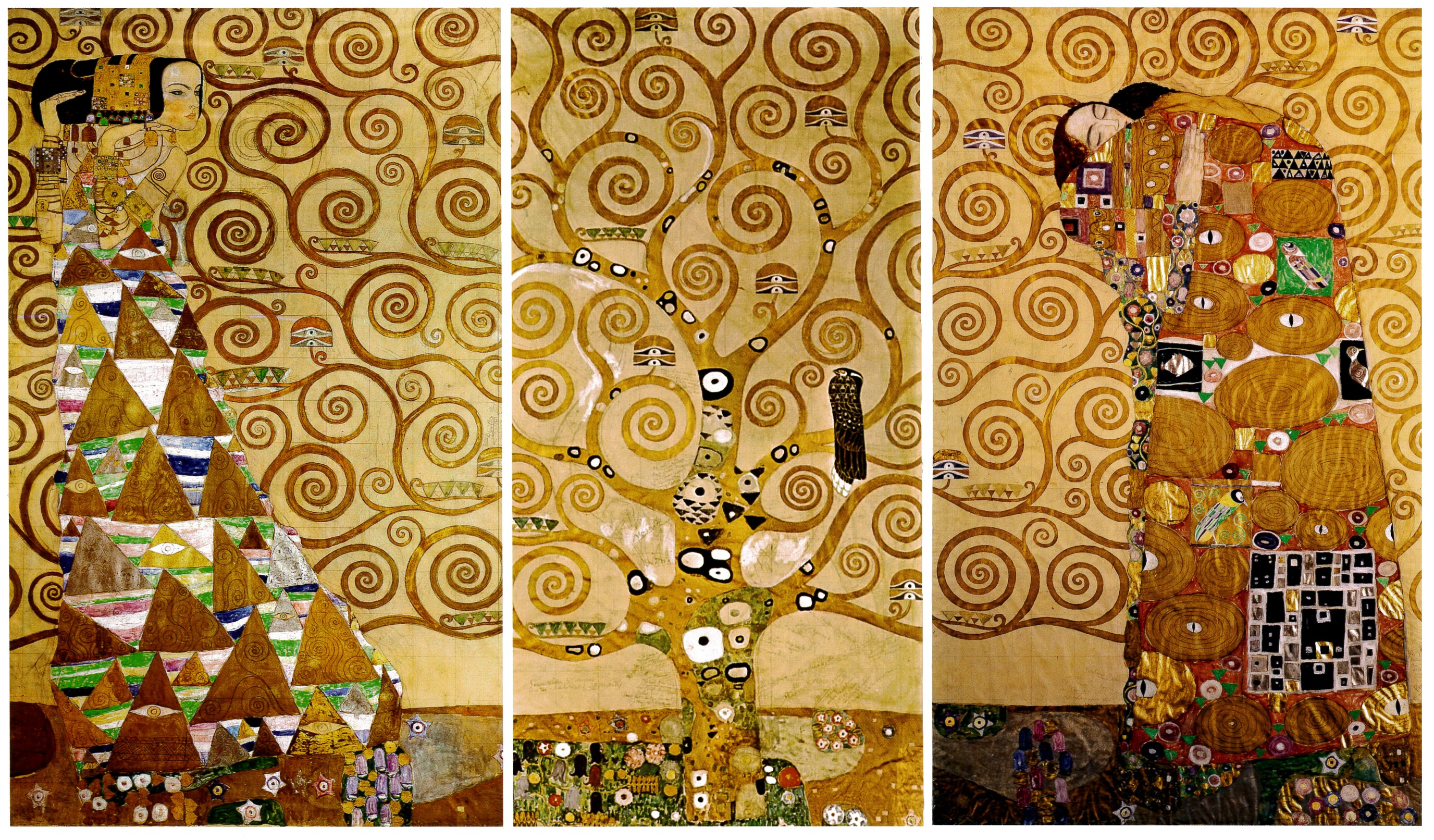 l arbre de vie gustav klimt zil et compagnie. Black Bedroom Furniture Sets. Home Design Ideas