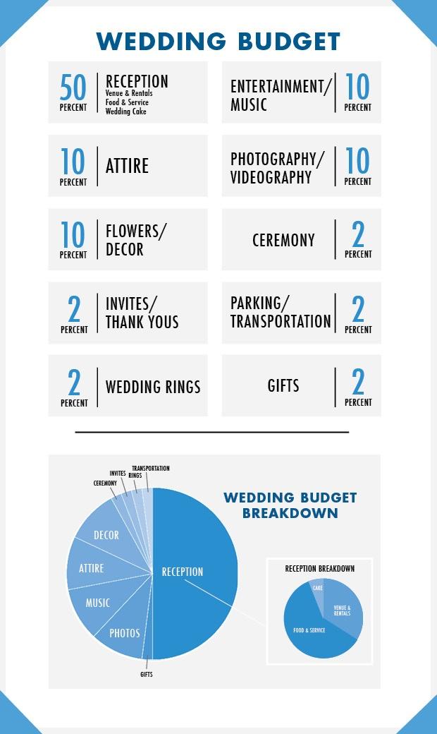 Wedding Spending Graphic