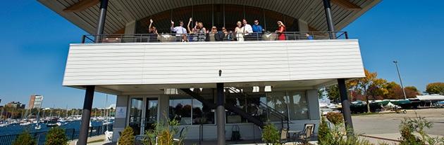 Modern Wedding Venue: Milwaukee Community Sailing Center
