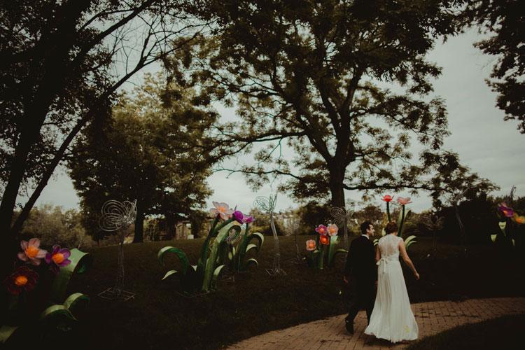Kosher Wedding at Boerner Botanical Gardens