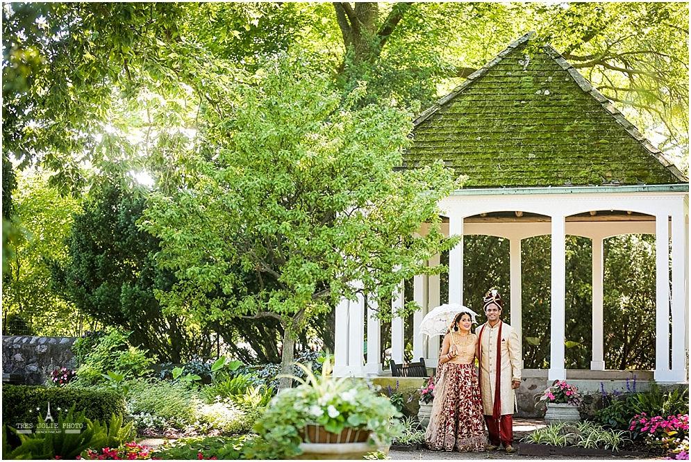 The Mehtas\' Indian Wedding at Boerner Botanical Gardens