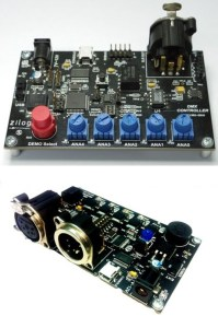 DMX Reference Design Kit The DMX512 A Controller and Receiver Reference Design
