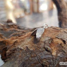 Zilveren Mossel s oxi hanger