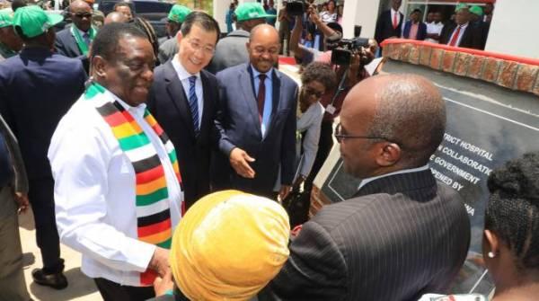 Second phase of Mahusekwa Hospital commissioned - Zimbabwe ...