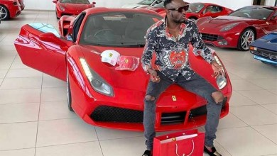 Photo of Ginimbi takes his red Ferrari 488 Spider down for a spin in Bulawayo