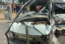 Photo of Horrific accident along Simon Mazorodze in Harare (PICTURES)
