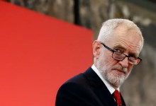 Photo of UK's ex-Labour Party leader Jeremy Corbyn suspended