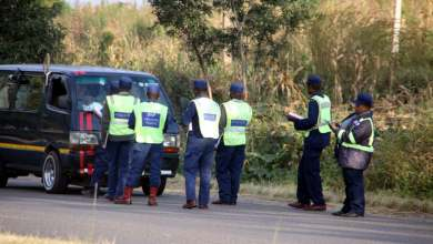 Photo of Harare cops arrested for mounting a fake roadblock in CBD