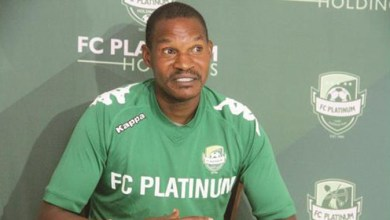Photo of Mapeza back at FC Platinum as De Jongh is shown the door