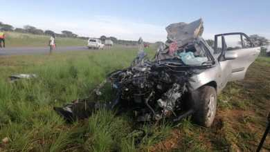 Photo of Zimbabwean dies in Namibian accident after murdering his wife and kid