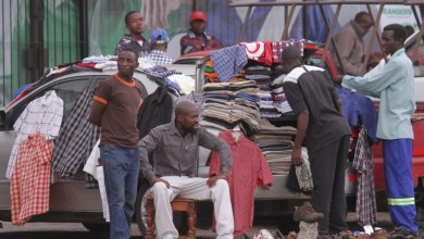 Photo of Police intercept three truckloads of smuggled second-hand clothes