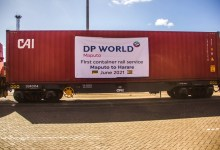 Photo of Container train service launched for Maputo-Harare rail link