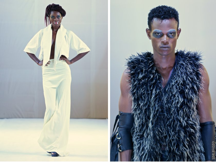 More creations by David Alford on the catwalk at Accra Fashion Week, Ghana. PIC: SIMON DEINER/ SDR Photo