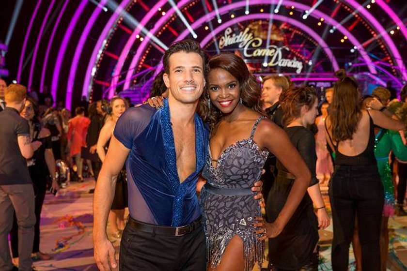 Danny Mac and Oti Mabuse from Strictly Come Dancing 2016. PIC: PROMO IMAGE
