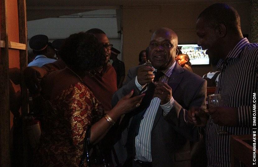 Ambassador Chris Mutsvangwa was also at the exhibition. PIC: T. CHIHAMBAKWE | ZIMBOJAM.COM