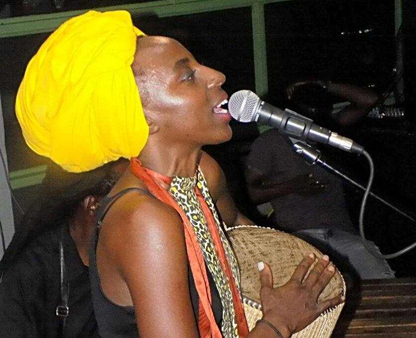 ZImbabwes Mbira princess, Hope Masike PIC: COURTESY OF HOPE