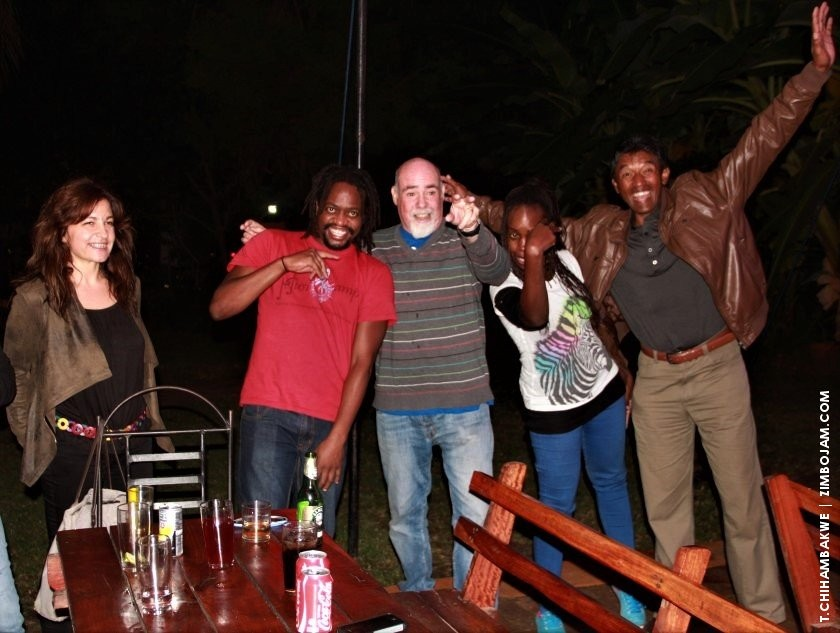 Moments of happiness at jazzics. PIC: T. CHIHAMBAKWE. | ZIMBOJAM.COM