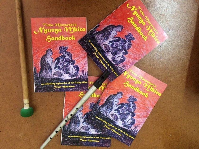The Nyunga Mbira handbook PIC: COURTESY OF TICHA MUZAVAZVI
