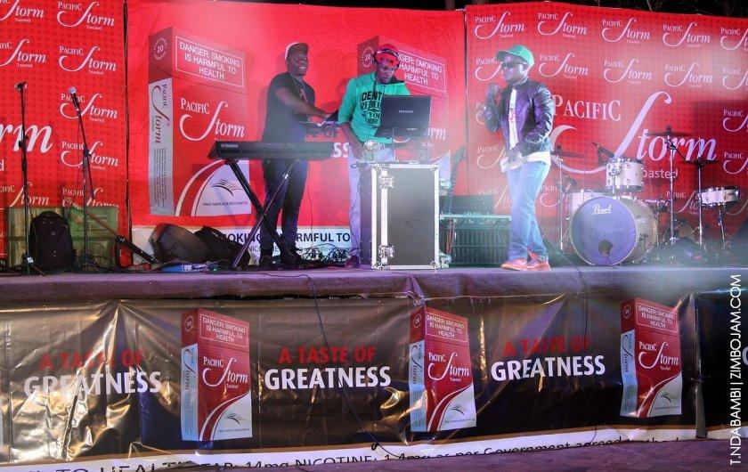 The stage before it started raining PIC: T. NDABAMBI | ZIMBOJAM.COM