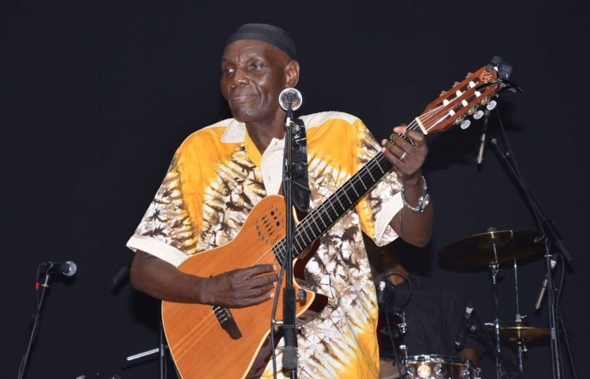 Zimbabwe's music legend, Dr. Oliver Mutukudzi PIC: COURTESY OF NYASHA MAPFEKA | E&N Designs