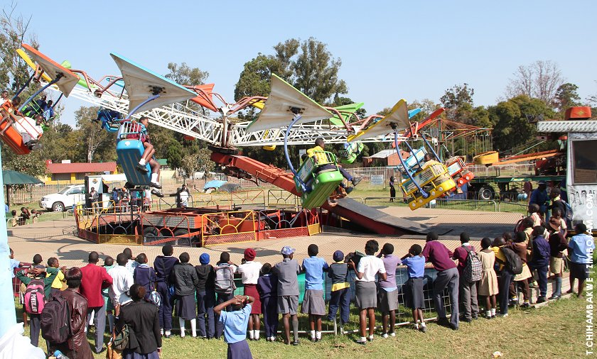 Fun and games at the festival. PIC: T. CHIHAMBAKWE | ZIMBOJAM.COM