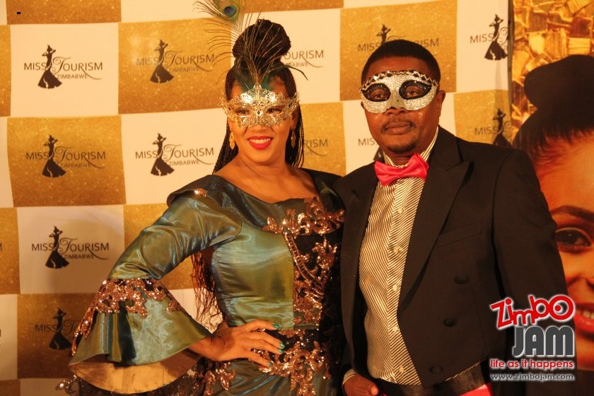 Minister Mzembi and wifey.