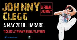 Johnny Clegg Live in Harare - The Final Journey @ Raintree | Helensvale | Harare Province | Zimbabwe