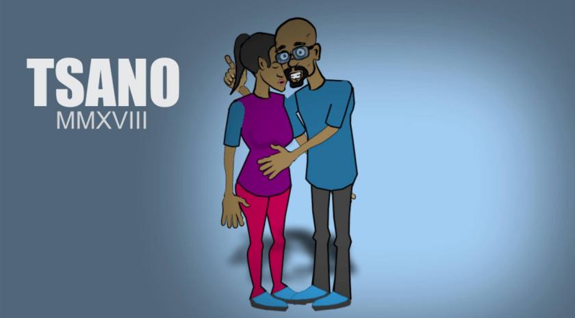 Tsano, McCoptar's 2D Animation character PIC COURTESY OF MICHAEL MUPOTARINGA