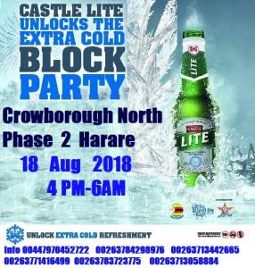 Castle lite block party @ Africa Alliance Records | Harare | Harare Province | Zimbabwe