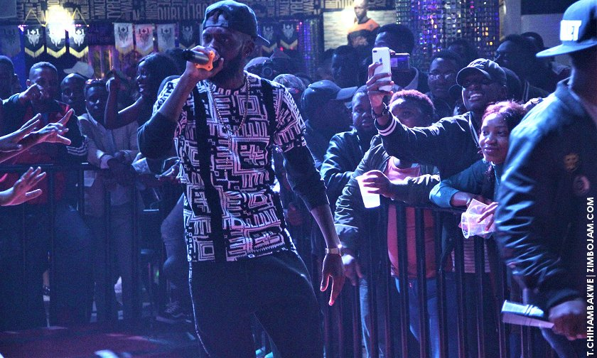 King Takura performing at his album launch. PIC: T. CHIHAMBAKWE | ZIMBOJAM.COM