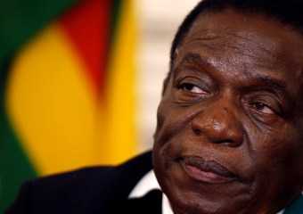 """God is the solution"" says Mnangagwa"