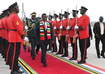 Mnangagwa arrives in Tanzania for Sadc Summit