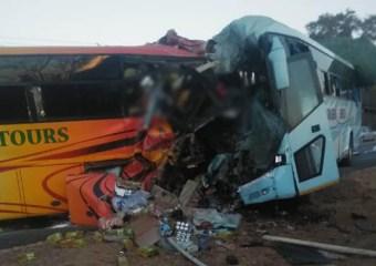 10 die in Gweru bus collision