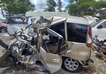 Two die in head-on collision near Somabhula
