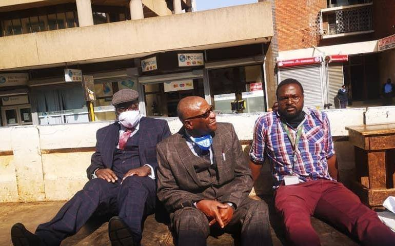 Biti, Karenyi-Kore and four others arrested by police who captured Harvest House
