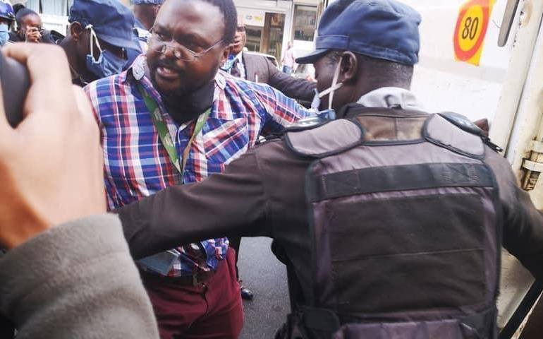 US embassy condemns use of security forces to take over MDC Alliance HQ